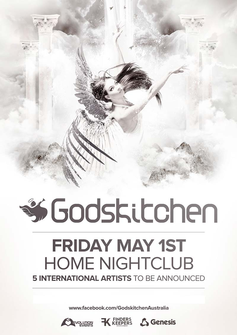 Godskitchen</br>Sydney, Australia</br>1st May 2015