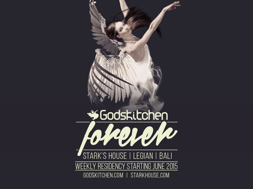 Godskitchen</br>Legian, Bali</br>27th June 2015