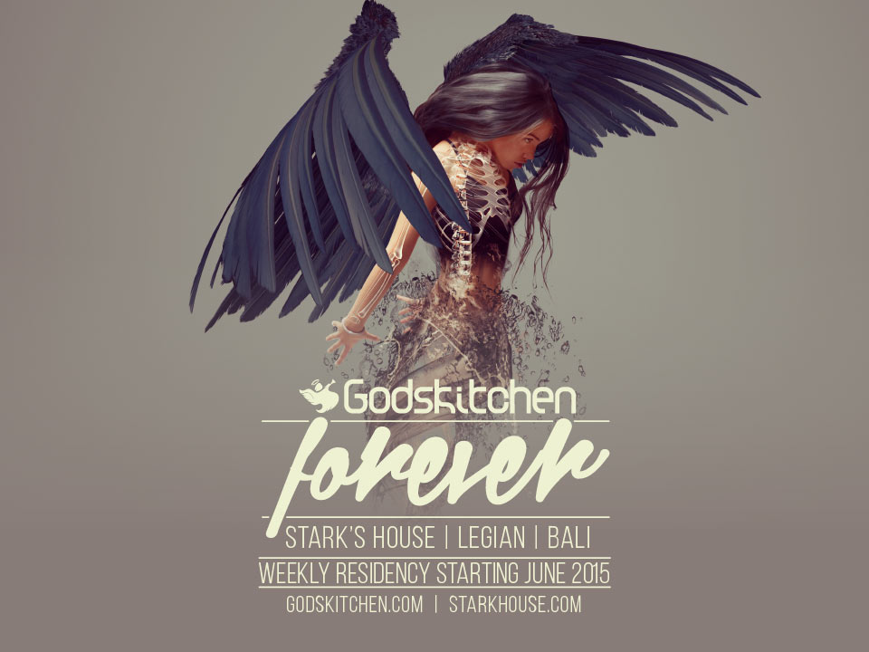 Godskitchen</br>Legian, Bali</br>04th July 2015