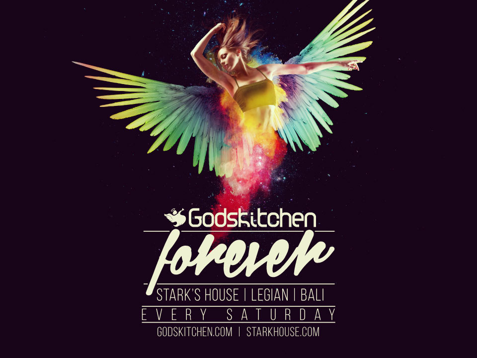 Godskitchen</br>Legian, Bali</br>Every Saturday 2015